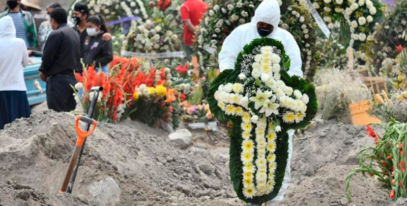 COVID-19 puede ser la primera causa de muerte en México para finales de año