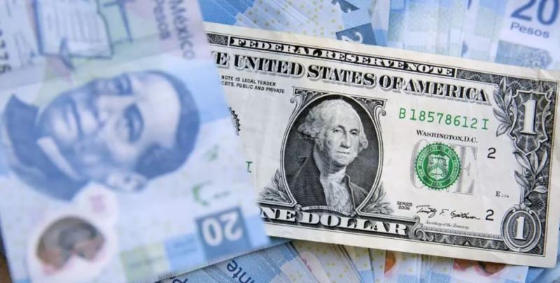 Peso mexicano suma seis semanas con ganancias y se posiciona debajo de los 21 pesos