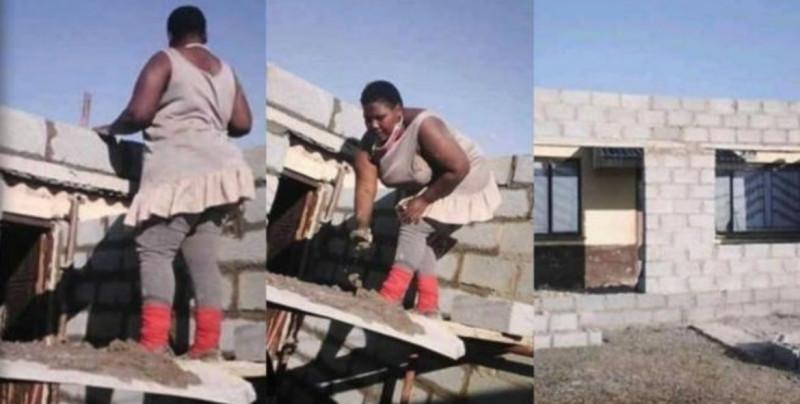 Ingeniera sudafricana inspira al construir su propia casa