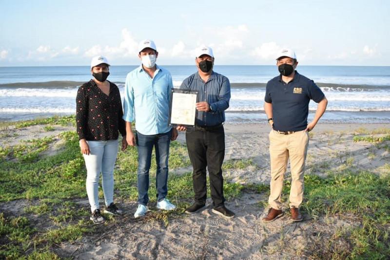 Playa Ceuta recibe certificación de Playa Limpia Sustentable