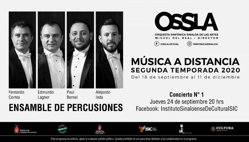 Se cambia para el 24 de septiembre el inicio de conciertos de la OSSLA