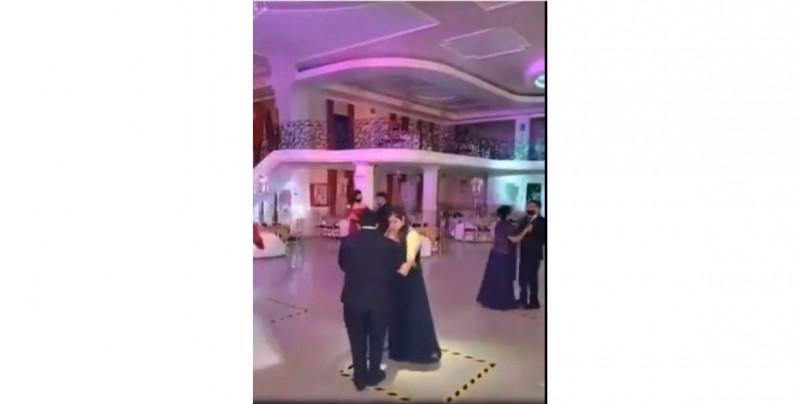 """Video: mexicanos ponen el ejemplo de como debe ser una boda en la """"nueva normalidad"""""""