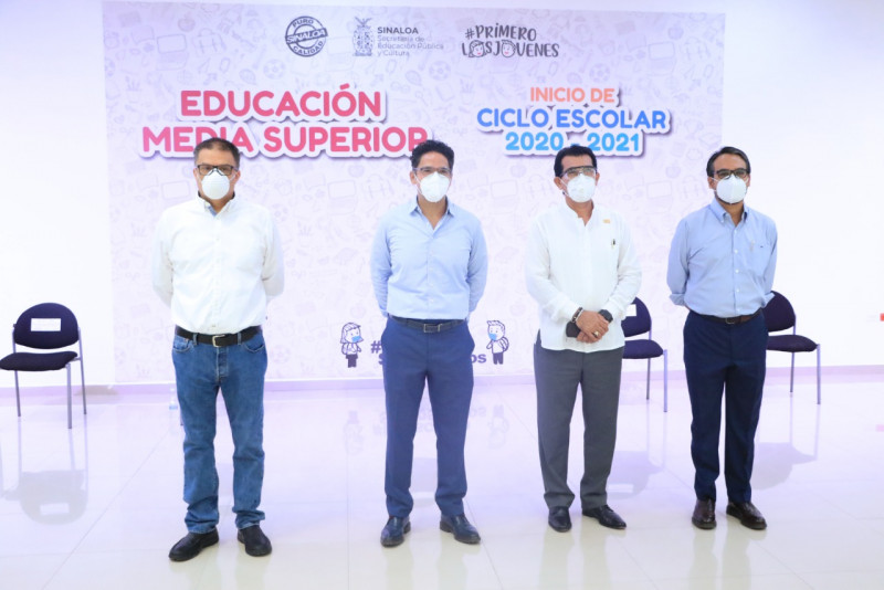 150 mil 414 alumnos de preparatoria  en Sinaloa iniciaron este lunes el Ciclo Escolar