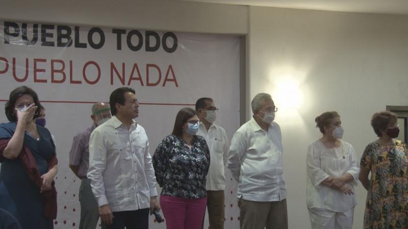 Cobijan morenistas de Sinaloa a Mario Delgado para dirigir el partido a nivel nacional