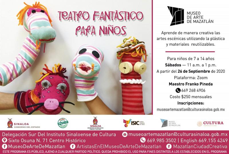 Regresa el taller Teatro Fantástico para Niños