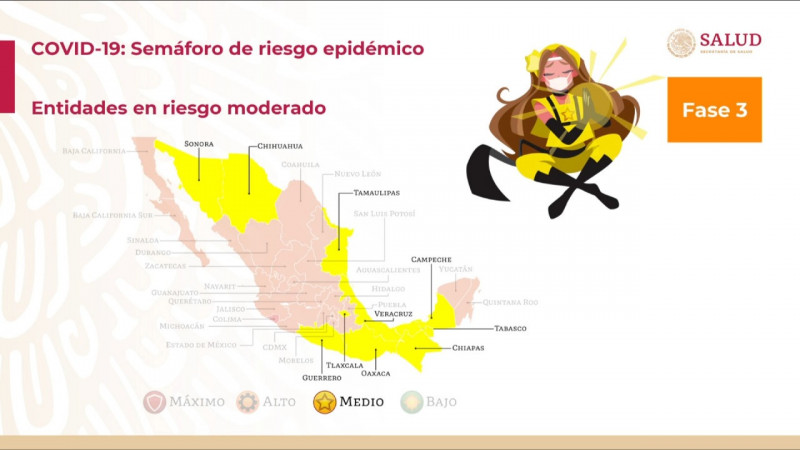 En riesgo capacidad de operación si se regresa a semáforo naranja:Canaco