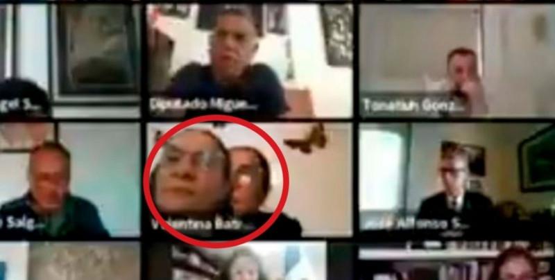 Diputada utiliza fotografía para simular su presencia en Sesión del Congreso