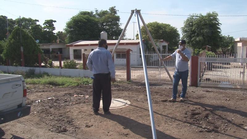 Inaugura JAPAC obra de alcantarillado sanitario en Culiacancito