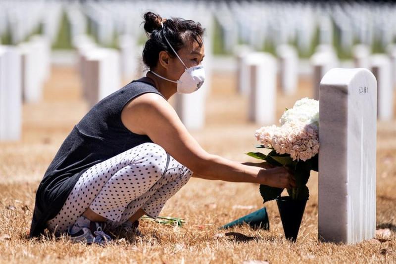 El Covid-19 ha matado más estadounidenses que sus últimas cinco guerras