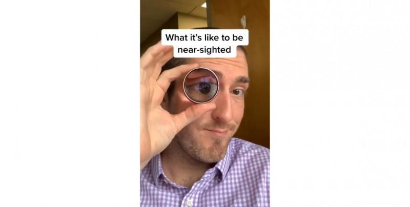 Video: ¡sorprendente! Así miran las personas con diferentes gravedades de miopía