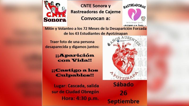 A 6 años de la desaparición de los normalistas de Ayotzinapa