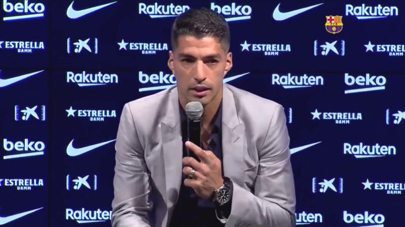 Luis Suárez rompe en llanto al salir del Barcelona