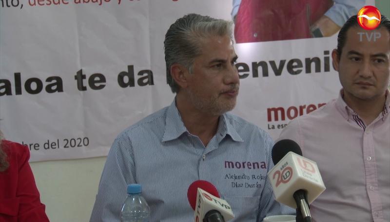 Alejandro Rojas Díaz Durán confía en obtener la dirigencia nacional de Morena