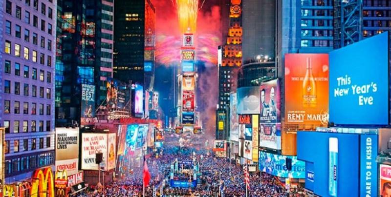 ¿Esto irá para largo? Cancelan fiesta presencial de año nuevo en Nueva York