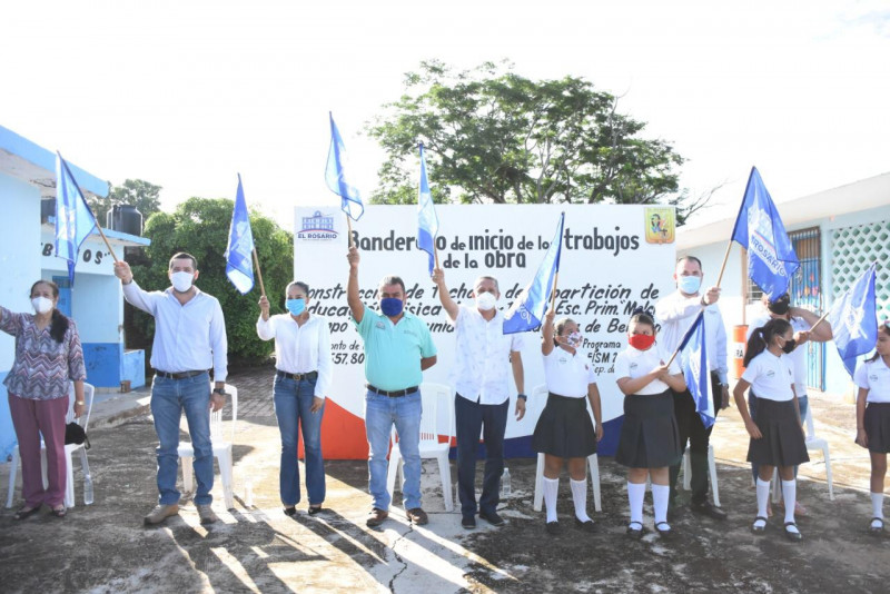 Construirán techumbre en escuela de Laguna de Beltranes
