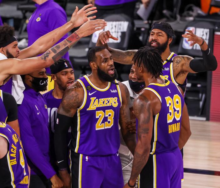 Los Lakers de la mano de LeBron pasan a la final
