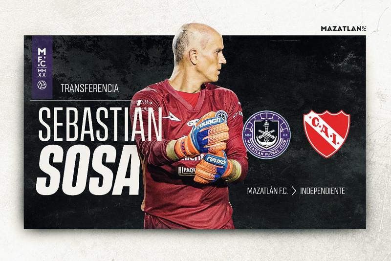 Sebastián Sosa fuera de Mazatlán F.C. a préstamo