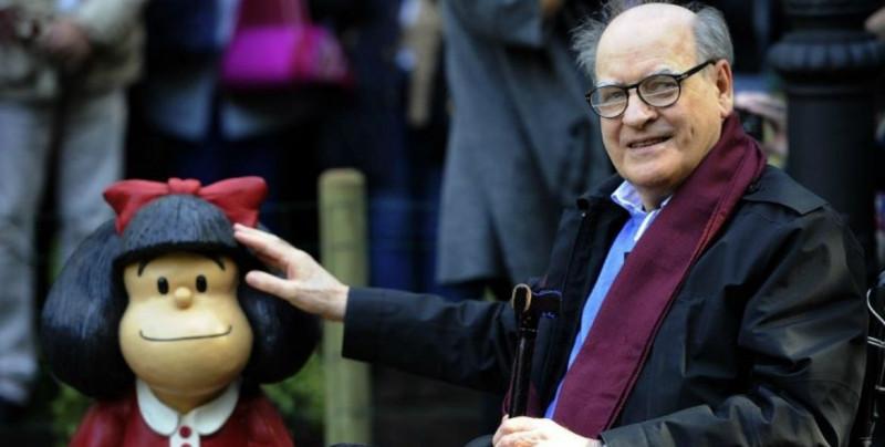 """""""Quino"""" muere a los 88 años, el genio detrás de la figura de """"Mafalda"""""""