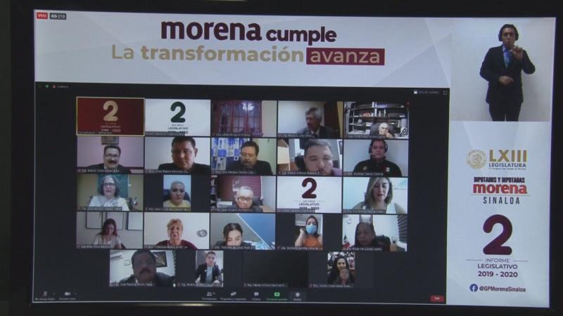 Un Congreso autónomo destaca Grupo Parlamentario de MORENA
