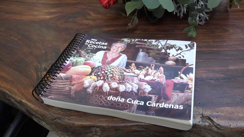 Presentan libro de Doña Cuca Cárdenas