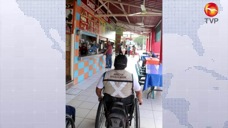 Quieren 'banquetas libres' en todo Mazatlán