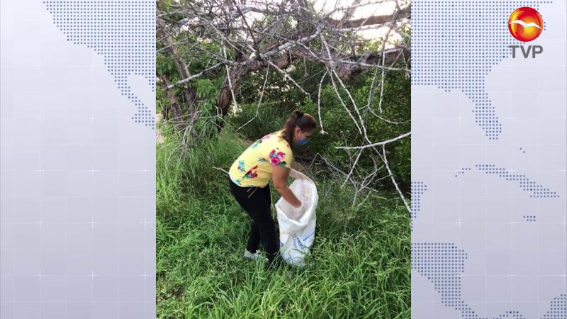 Realizan jornada de limpieza especial en el estero del Yugo