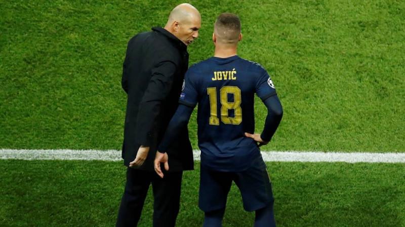 Luka Jovic interferiría en el pase de Dembélé al Manchester United