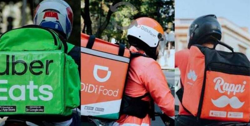 Repartidores de servicios como Rappi y Uber Eats harán huelga mundial en pocos días