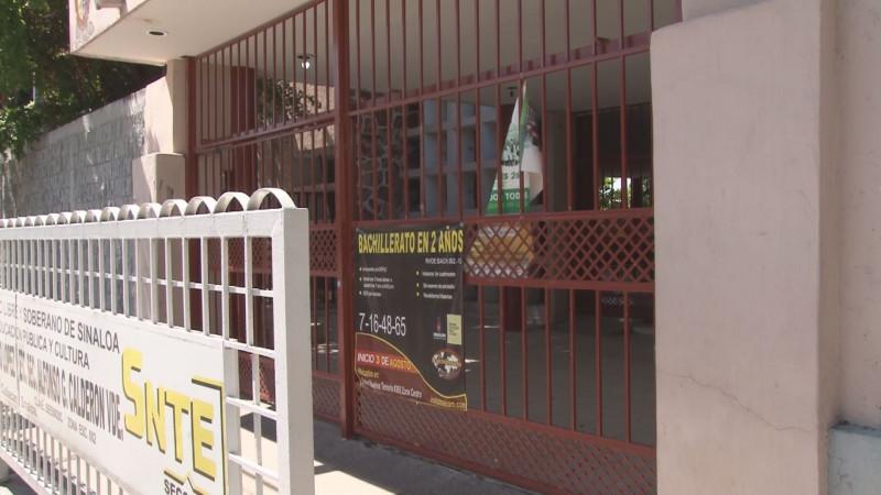 Valdalizadas tres escuelas del primer cuadro de la ciudad en Culiacán