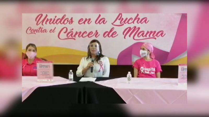 Lucha contra el cáncer de mama no se detiene