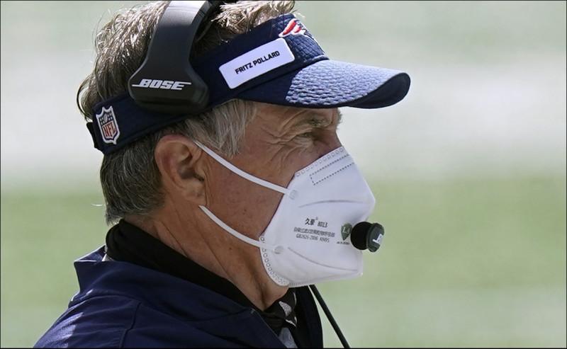 La NFL multará a entrenadores que no usen cubrebocas