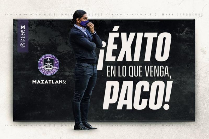 Palencia sale de Mazatlán FC