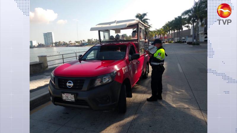 Verifican ya al transporte público en Mazatlán