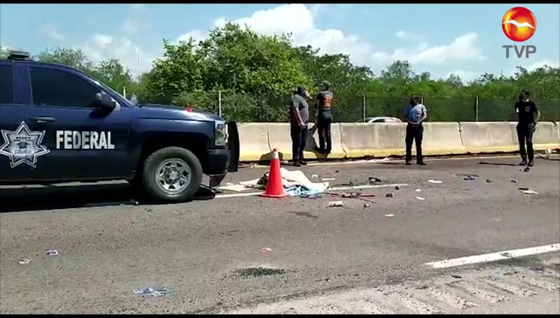 Trágico accidente deja a dos personas muertas cerca de las Labradas