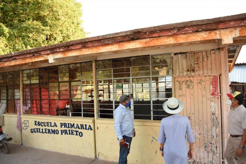 Rehabilitarán al 100% primaria de Loma Verde