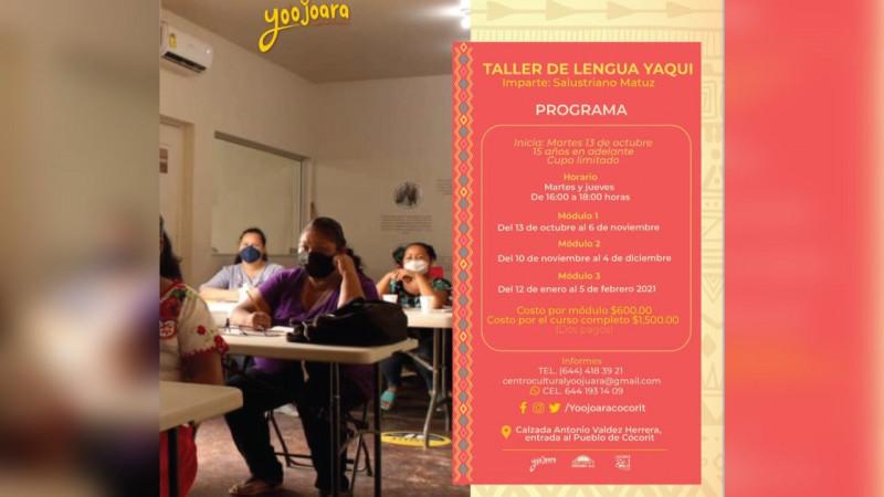 ¡A aprender lengua Yaqui!