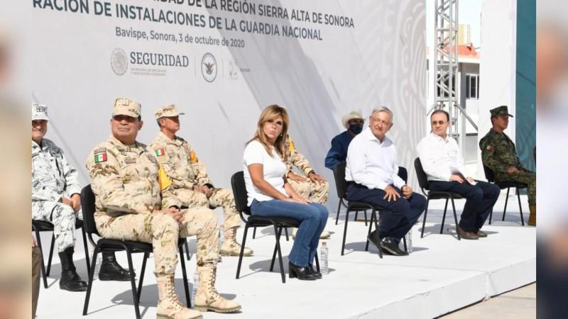 Guardia Nacional Mayor logro de Durazo