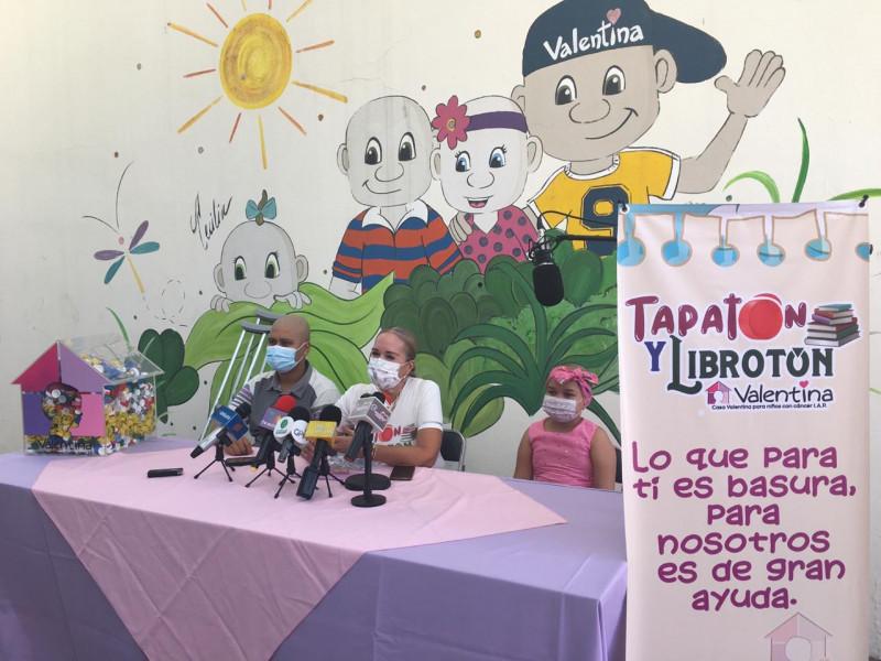 Casa Valentina lleva a cabo su campaña de tapaton y libroton