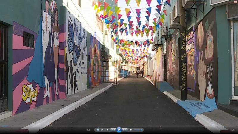 Se reactiva trabajo en callejones de la ciudad.