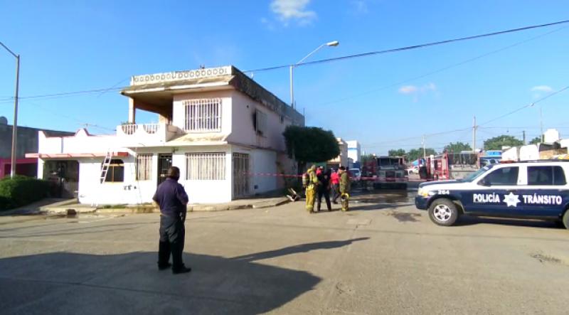 Se incendia vivienda en El Conchi, pudo haber sido provocado