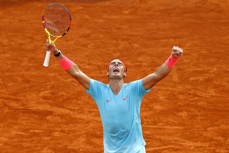 Rafael Nadal a la final de Roland Garros