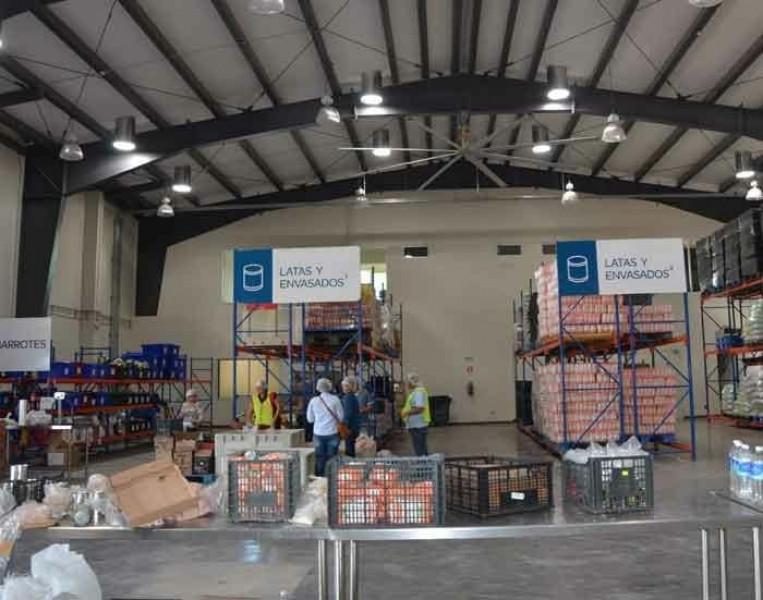 Apoya Banco de Alimentos a familias del Norte del Estado con despensas alimentarias