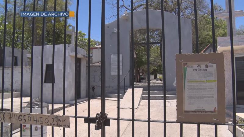Panteones de Culiacán permanecerán cerrados el día de muertos