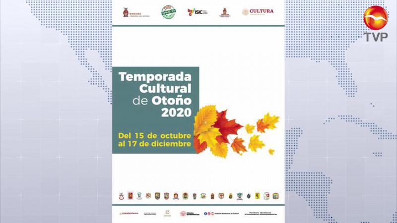 ¡Ya viene! la Temporada Cultural Otoño 2020 del ISIC en Mazatlán