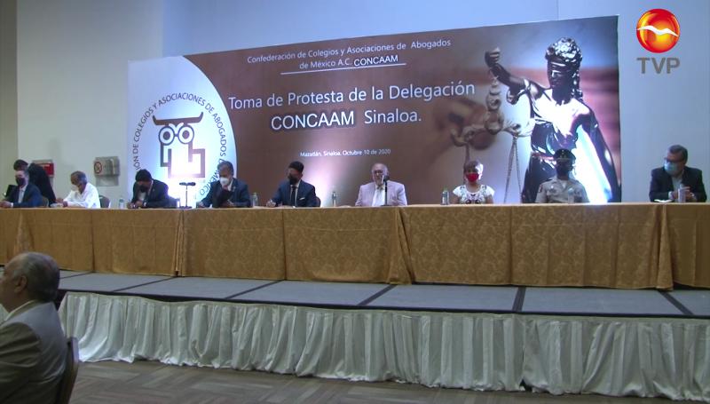Toma protesta nuevo delegado en Sinaloa de CONCAAM