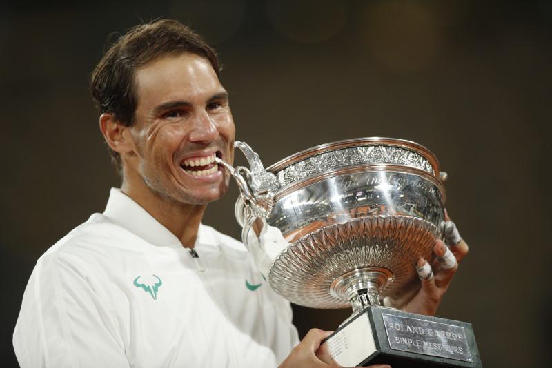 Rafael Nadal campeón de Roland Garros
