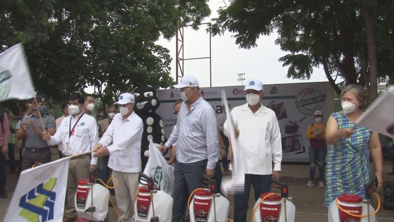 Arrancan acciones contra dengue, zica y chikungunya