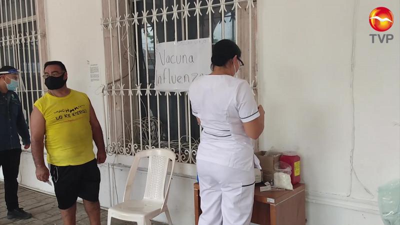 Inician vacunación contra influenza en Mazatlán