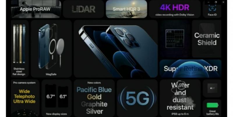 Apple presenta el iPhone 12, el primero compatible con red 5G