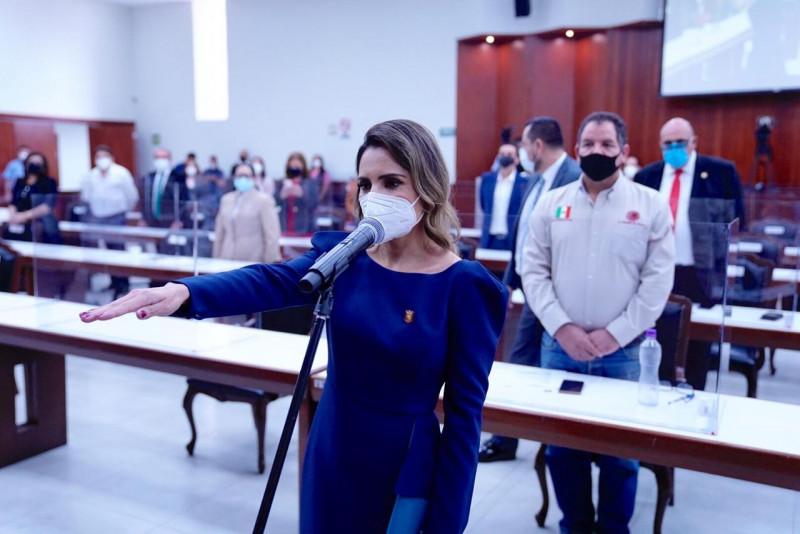 Pier Angely Camacho viuda de Carlo Mario Ortíz es la nueva presidenta de Salvador Alvarado